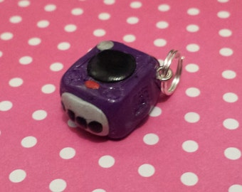 Kawaii Gamecube key charm
