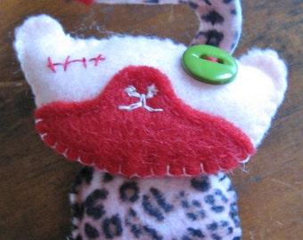 Zombie Kitty pin/hanging you choose