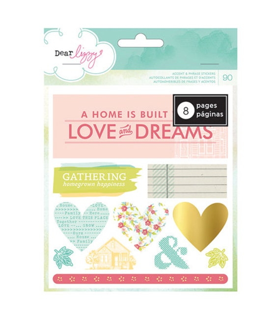 and frolic collection   remarks   sticker book   accents and phrases