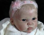 "CUDDLES 26 Inch ((  9 month size)) reborn baby ""KIT"""