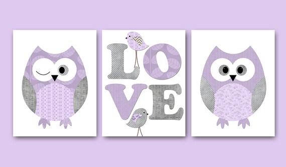 kids wall art owl nursery owl decor baby nursery decor baby - Owl Decor