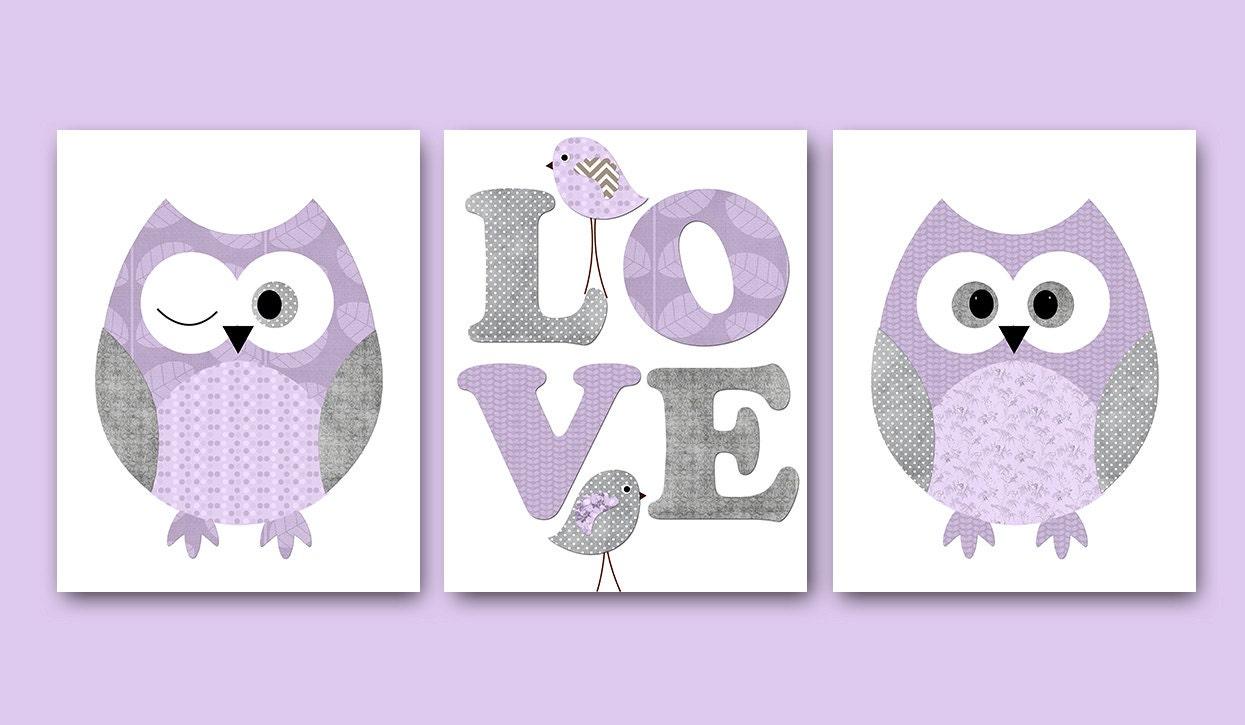 wall owl nursery owl decor baby nursery decor baby