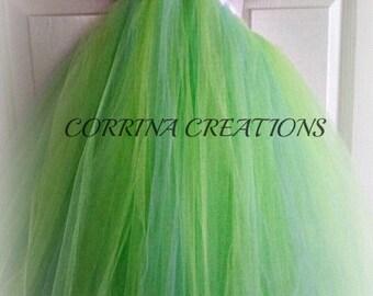 Little Mermaid Inspired,Princess Tutu Dress,OTT, Pageant Wear, Boutique size NB to size 6