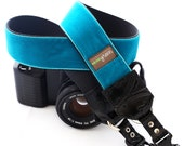 The Zack Velvet Camera Strap with Quick Release Buckles -- 1.5 inches wide
