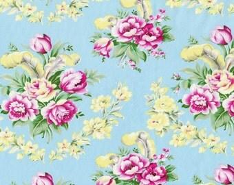 LAST YARD Circa Taylor Blue - Jennifer Paganelli Sis Boom - Free Spirit  -   Fabric no. PWJP077.Blue
