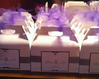 Hotel Wedding Guest Welcome Box or Bag