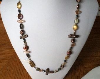 Maverick Jewels-Green & Gold