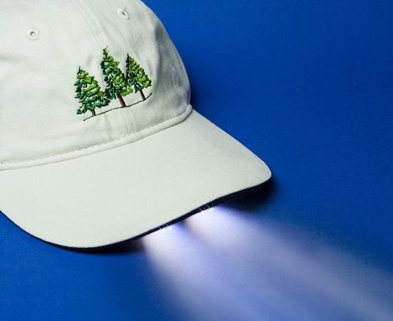 Wilderness Pines Outdoors Flashlight Hat Lighted Baseball