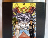 Star Wars, Tarot, Star Wars Art, Flask, Poster, Han Solo, Leia, The Lovers