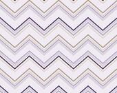 Ashbury Chevron Purple Fat Quarter Cut