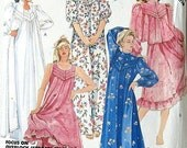 Mc Call's pattern 1986 vintage... Robe, Jacket and Nightgown ... number 2827