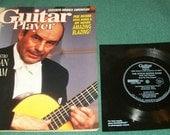 Vintage Guitar Magazine Julian Bream with Free Flexidisc Record 1990 JJ Cale Jack Bruce Tab