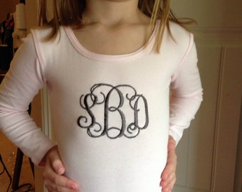 Personalized leotard