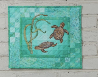 Turtles Wall Quilt Pattern