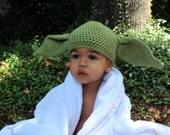 Baby/Toddler Yoda Hat/Photo Prop