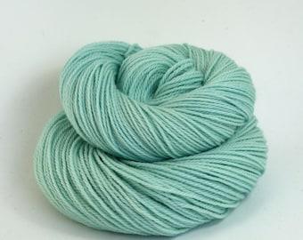 Orion - Hand Dyed Superwash Merino Wool DK Sport Yarn - Colorway: Glacier