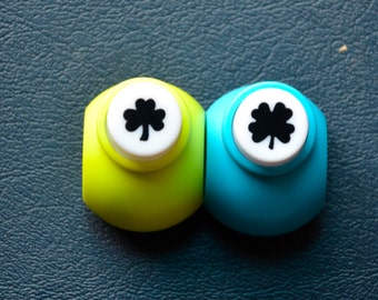 A Set of 2 Mini Paper Punches- Clovers