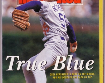 Sports Illustrated July 1, 1991 Orel Hershiser On The Cover