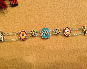 Fancy Pants Charm Bracelet