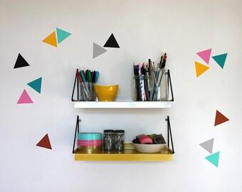 Mini vinyl wall stickers / decal art - Triangles