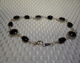 Black Onyx Bracelet  #807