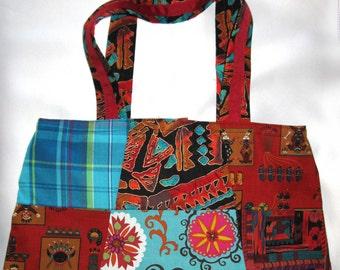 Patchwork Handbag-Tote