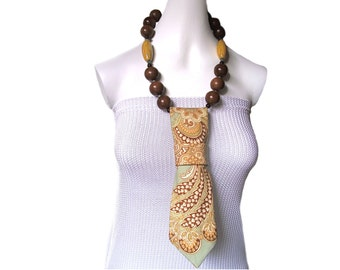 Necktie necklace PAISLEY women's necktie ladies neckties fashion accessory modern necktie spring summer autumn