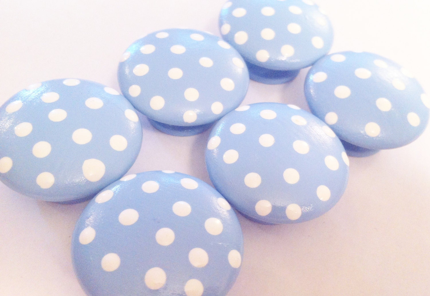 Baby Dresser Knobs and Handles. Cute Kids Drawer Pulls to Match Your Theme. We have ideas for kids drawer pulls and decorative dresser knobs that you can make yourself that will give your recycled nursery furniture a fresh new look.
