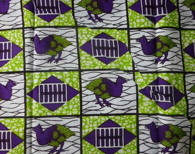 African Mitex Holland Wax Prints African Fabric For Dressmakings/Fabric for Sewing Dresses, Skirts,Sold By Yard(Pagnes)