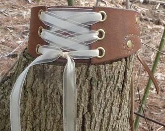 Leather Corset Choker