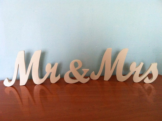 Personalised Mr And Mrs Letters Wooden Letters 15 Mr Mrs Personalized Wedding By