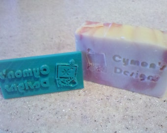 Custom Soap Stamp - With Logo