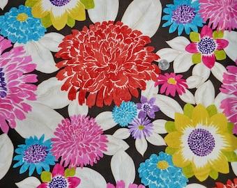 Dear Stella Bright BIG Flowers - Fabric By The Yard