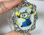 OOAK: Despicable Me - Minion I Has a Banana Cameo Necklace
