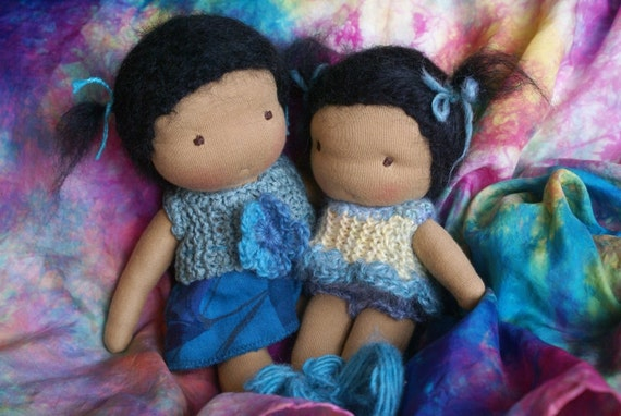 Custom 7 inch Waldorf doll - RESERVED-