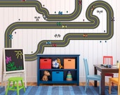 Do You Want To Race - Removable Race Tracks, Cars, Drivers, Flags Set