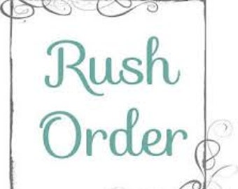 Rush Order - Includes Tracking (Xpresspost Canada)