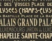 Opera De Paris in Black  from I Dream of Paris for Windham Fabrics