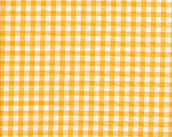 Yellow Gingham 1/4 inch by Riley Blake