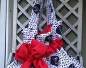 Texans Fabric Purse - Rhinestones, pretty and feminine - Custom Order