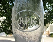 Personalized Etched Football Glasses - Perfect for Groomsmen Gifts