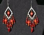 Beaded Chandelier Earrings-Gypsy Earrings