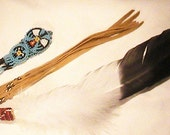 Native American style Smudge fan.