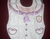 Machine Embroidered Baby Bibs