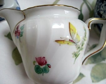German Hand Painted  Bone China Creamer