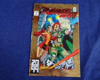 1992 Marvel Comics Ravage 2099 No. 1 - First Issue