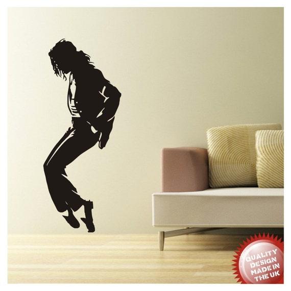 Michael Jackson Vinyl Wall Decal Sticker Large
