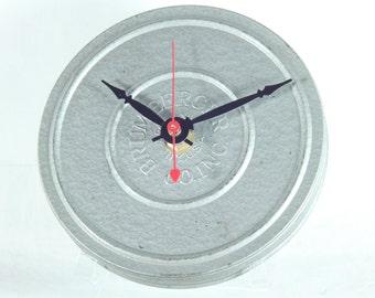 Metal Film Reel Desk Clock, Geekery, Clocks by DanO