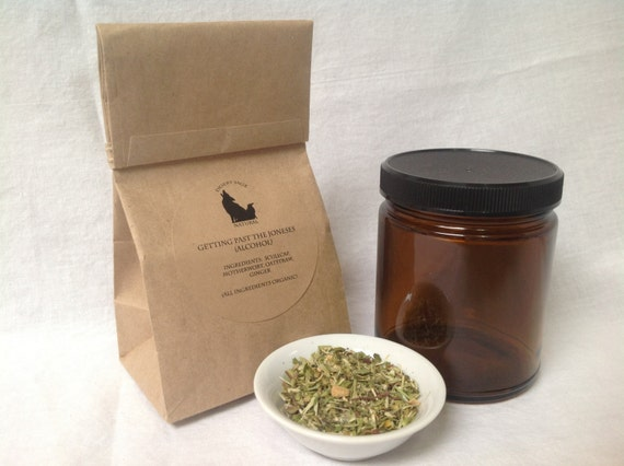 Getting Past the Joneses Alcohol in a Bag Organic tea to
