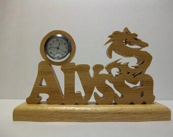 Fantasy Dragon Desk Clock